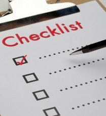 Good checklist is the key to successful moving